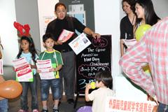 第1回松本国際祭り 「こいこい松本」 でサンタ募金活動